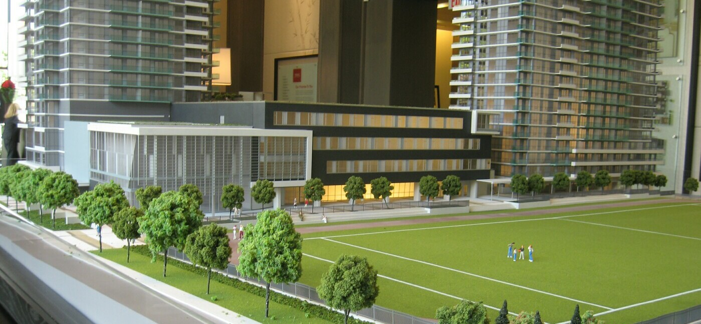 model of new school
