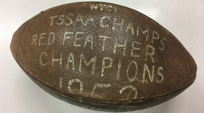 A PIECE OF NT SPORTS HISTORY COMES HOME