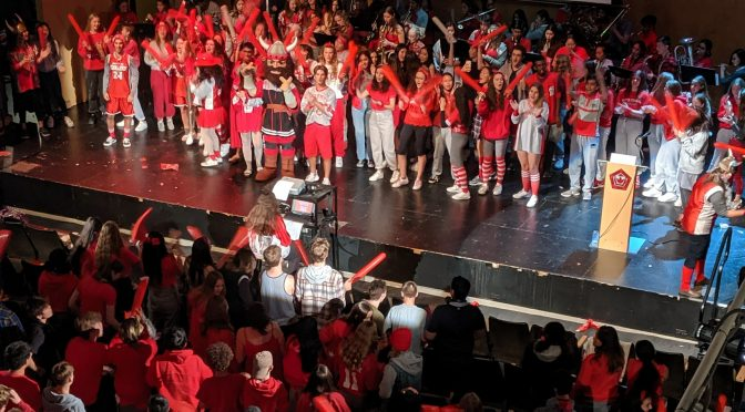 School pride on display at Red & Grey Day 2019
